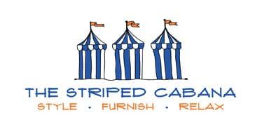 The Striped Cabana
